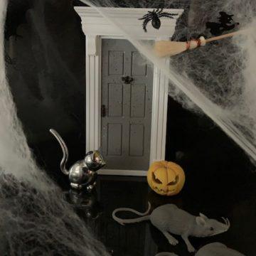 Happy Halloween Fairy Door
